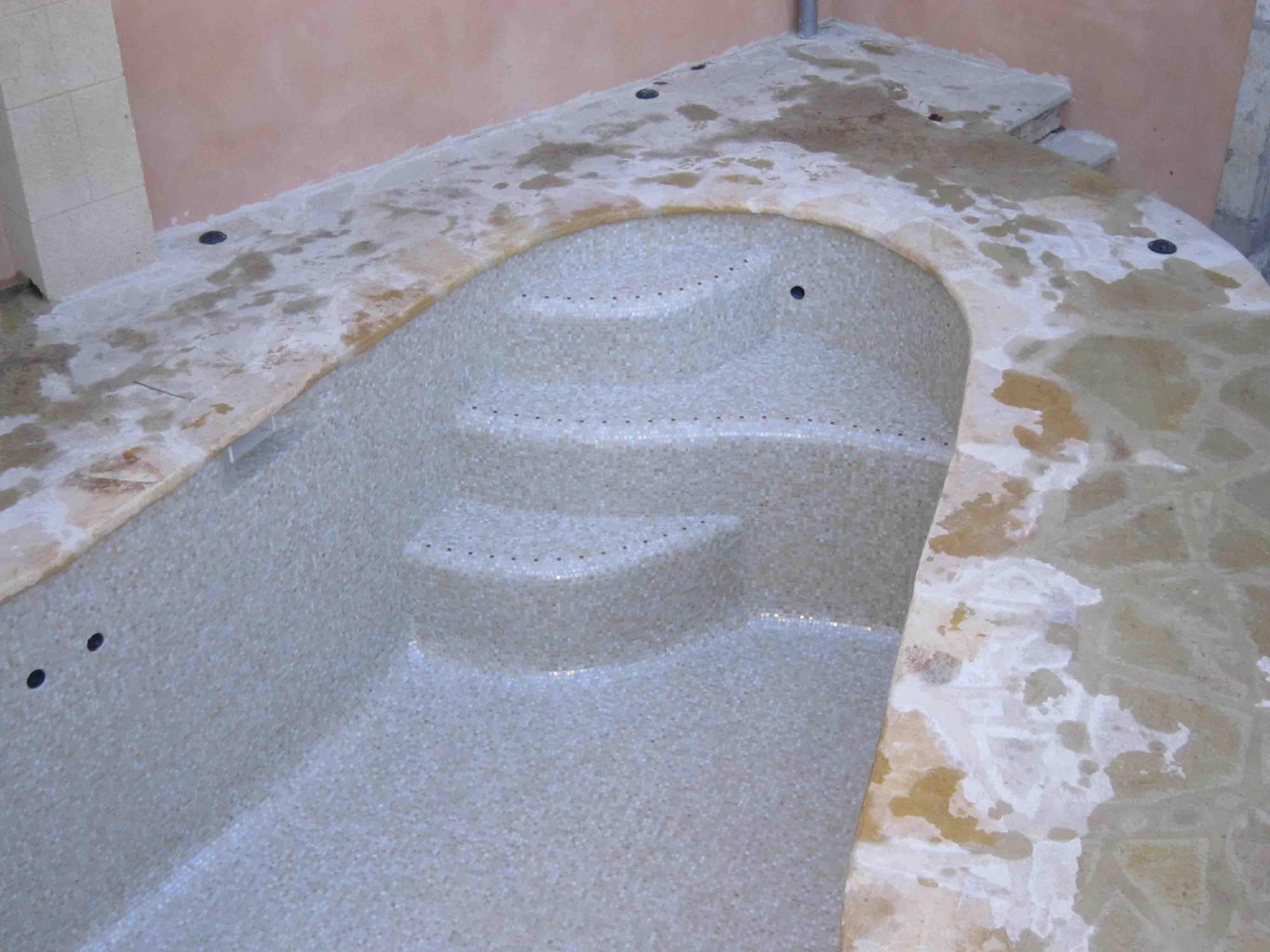 pâtes de verre beige, dolce mosaic sabbia