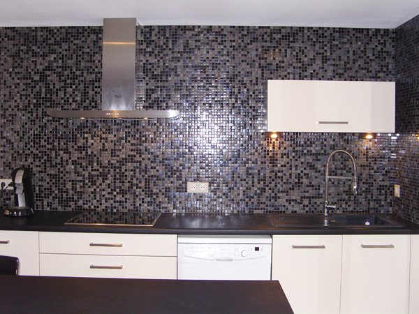 dolce mosaic cr dence cuisine en p tes de verre. Black Bedroom Furniture Sets. Home Design Ideas